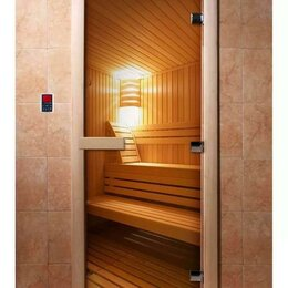 Двери - Дверь для бани (стекло, дерево, комбинированные), 0