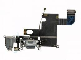 Шлейфы - Шлейф iPhone 6 с разъемом зарядки и аудио…, 0