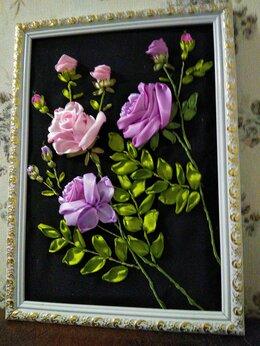 """Картины, постеры, гобелены, панно - """"Розы""""- картина в подарок ручной работы., 0"""