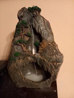Декоративные свечи - Арома лампа стелющий дым каменный водопад, 0