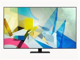 "Телевизоры - QLED  телевизор Samsung QE55Q80TAUXRU 55"" 4K UHD…, 0"