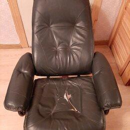 Кресла - Кожанное кресло Финляндия Реклайнер, 0