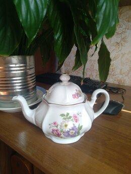 Посуда - Заварочный Чайник Bohemia  Чехословакия Винтаж, 0