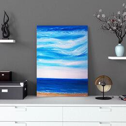 """Картины, постеры, гобелены, панно - Картина """"Дикий пляж Поповка, 0"""