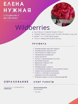 IT, интернет и реклама - Менеджер Wildberries, 0