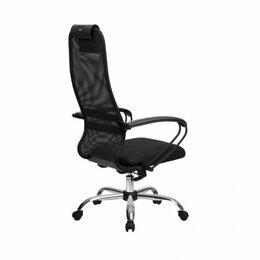 Компьютерные кресла - Офисное кресло Метта ВР-8 CH (ов/сечен), 0