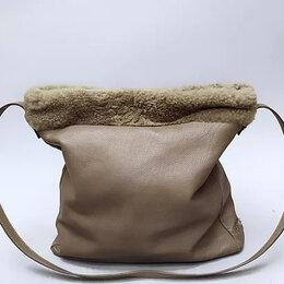 Сумки - Кожаная сумка-шоппер Bergé (Италия), 0