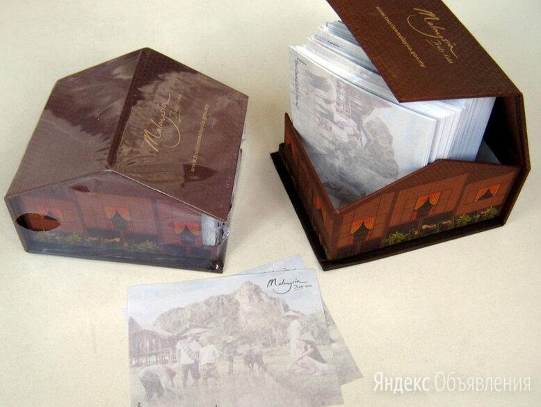 блок бумаги для записей в футляре в виде домика по цене 200₽ - Подарочные наборы, фото 0