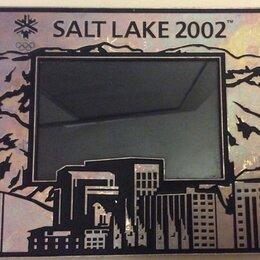 Фоторамки - Фоторамка Олипиада Солт-Лейк Сити 2002 год, 0
