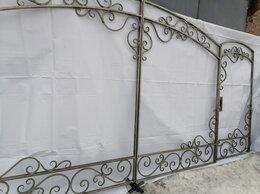 Заборы и ворота - Ворота с калиткой, 0