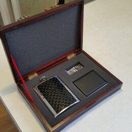 Подарочные наборы - Подарочный набор (фляжка, портсигар), 0