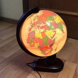 Глобусы - Глобус с подсветкой, 0