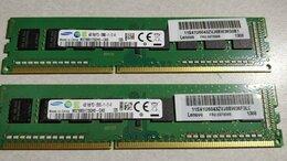 Модули памяти - Оперативная память Samsung 8GB DDR3 (2шт по 4GB ), 0