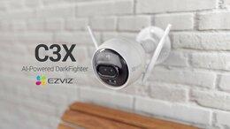 Камеры видеонаблюдения - Wi-Fi камера видеонаблюдения ezviz C3X, 0