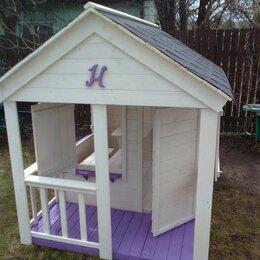 Игровые домики и палатки - Детский игровой домик из дерева, 0