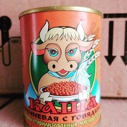 Продукты - Каша гречневая с говядиной, 0