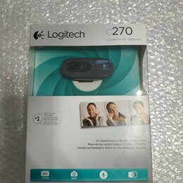 Веб-камеры - Веб камера Logitech c270, 0