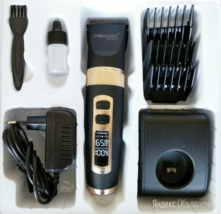 Машинка для стрижки ProMozer MZ-9818 по цене 2000₽ - Машинки для стрижки и триммеры, фото 0