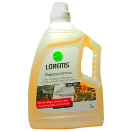 Бытовая химия - LOREMS Высококонцентрированный жироудаляющий спрей, 3л, 0