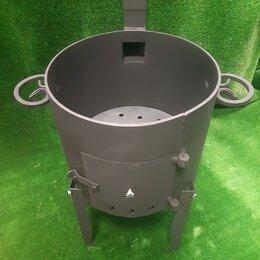 Печи для казанов - Печь для казана 5 мм. под 12 л. казан, 0