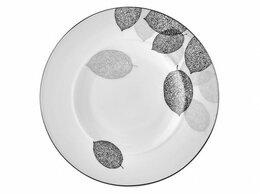 Кружки, блюдца и пары - Тарелка десертная Bosqua Platina, 0