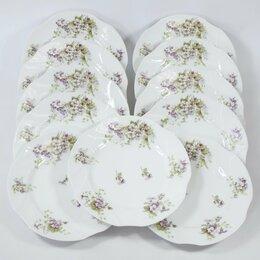 Тарелки - Антик тарелка Лимож Франция фарфор цветы, 0