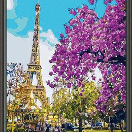 Дизайн, изготовление и реставрация товаров - Алмазная вышивка 40*50 Эйфелева башня  10111, 0