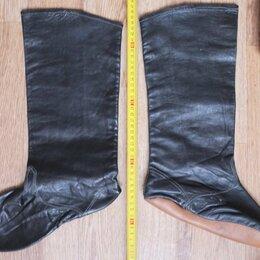 Сапоги - сапожки мягкие,натуральная кожа,для выезда лошадей,старинные, 0