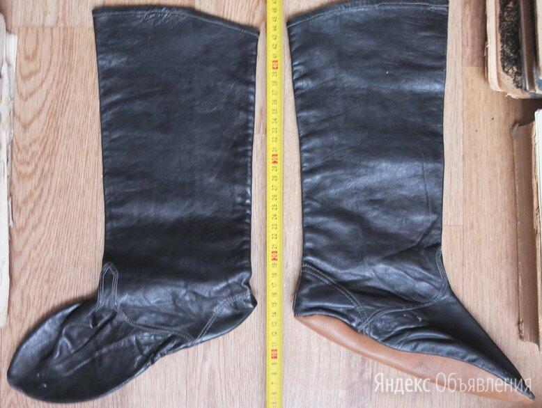 сапожки мягкие,натуральная кожа,для выезда лошадей,старинные по цене 4900₽ - Сапоги, фото 0