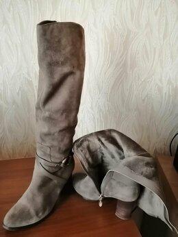 Сапоги - Демисизонные сапоги, 36 размер, натуральная…, 0