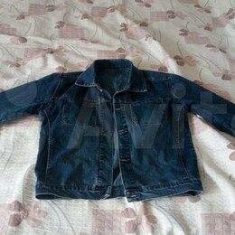 Куртки - Джинсовая куртка Wrangler XL, 0