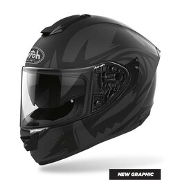 Обогреватели - Шлем интеграл Airoh (Айрох) ST 501 SPEKTRO BLACK…, 0