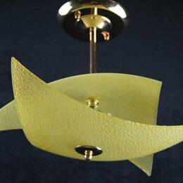 Люстры и потолочные светильники - Люстра на 3 лампочки, матовая, 0
