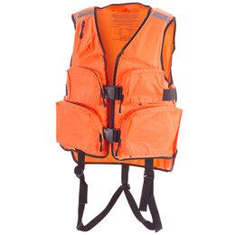 Спасательные жилеты и круги - Жилет охотника спасательный № 2 (оранжевый), 0