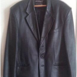 Пиджаки - Пиджак кожаный, 0