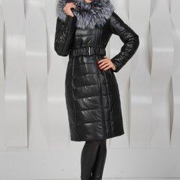 Пуховики - Пальто из экокожи, пуховик, куртка, 0