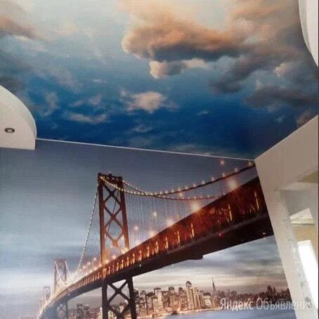 Натяжные потолки  по цене 300₽ - Потолки и комплектующие, фото 0