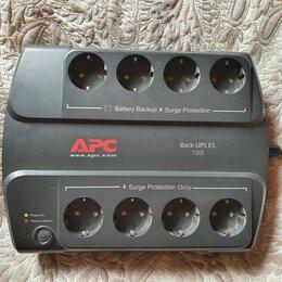 Источники бесперебойного питания, сетевые фильтры - APC Back-UPS ES 700, 0