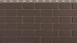 Фасадные панели - Панель Кирпич Клинкерный, Коричневый, 1220х440мм, 0