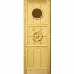Двери - Посад Дверь штурвал с иллюминатором (левая), 0