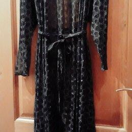 Домашняя одежда - Халат-пеньюар кружевной /пляжная накидка, 0