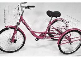 Велосипеды - Велосипед трехколесный. Farmer IB-3W 6 ск. 24''…, 0