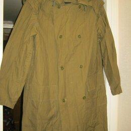 Одежда - Плащ из палаточной ткани, 0