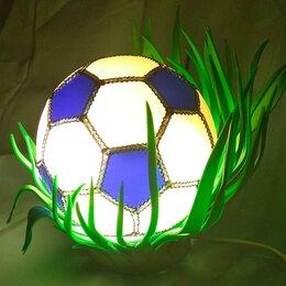Ночники и декоративные светильники - Светильник в детскую мяч ручная работа , 0