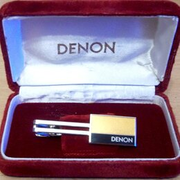 Запонки и зажимы - DENON - зажим для галстука для фанов, в футляре, новый. Ограниченный тираж, 0