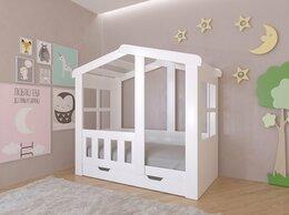 Кровати - Белая детская кровать-домик Астра. 9 цветов!, 0