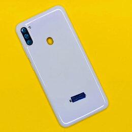Корпусные детали - Задняя крышка Samsung A11 (белая), 0