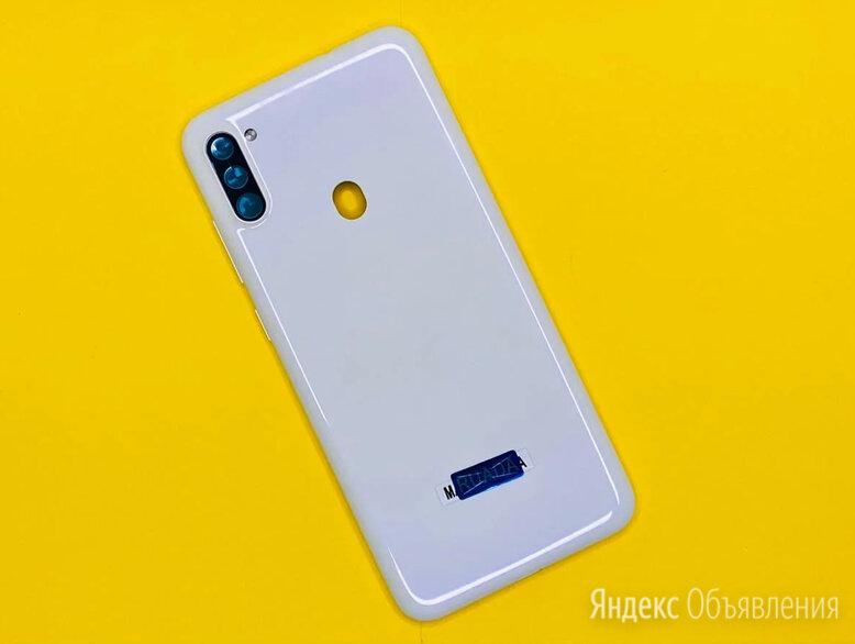 Задняя крышка Samsung A11 (белая) по цене 290₽ - Корпусные детали, фото 0