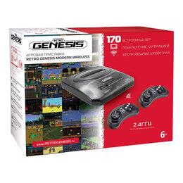 Игровые приставки - SEGA Retro Genesis Modern 170 игр / 2 беспроводных, 0