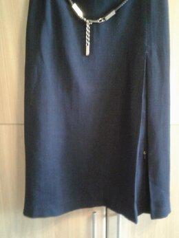 Юбки - Турция .Красивая синяя юбка., 0